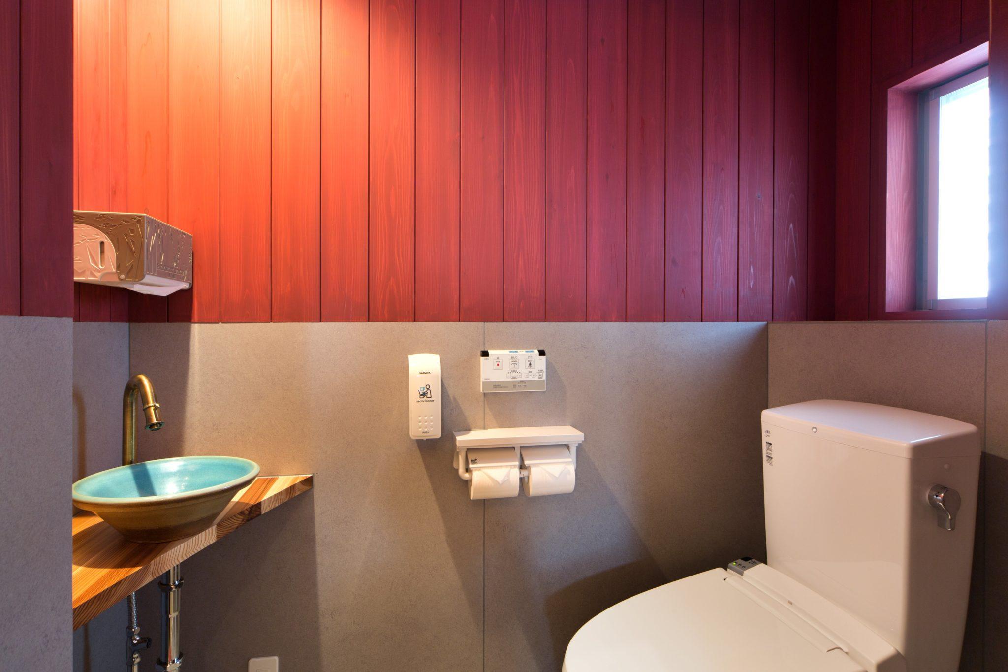 トイレ 手洗いはもちろん大谷焼「森陶器」