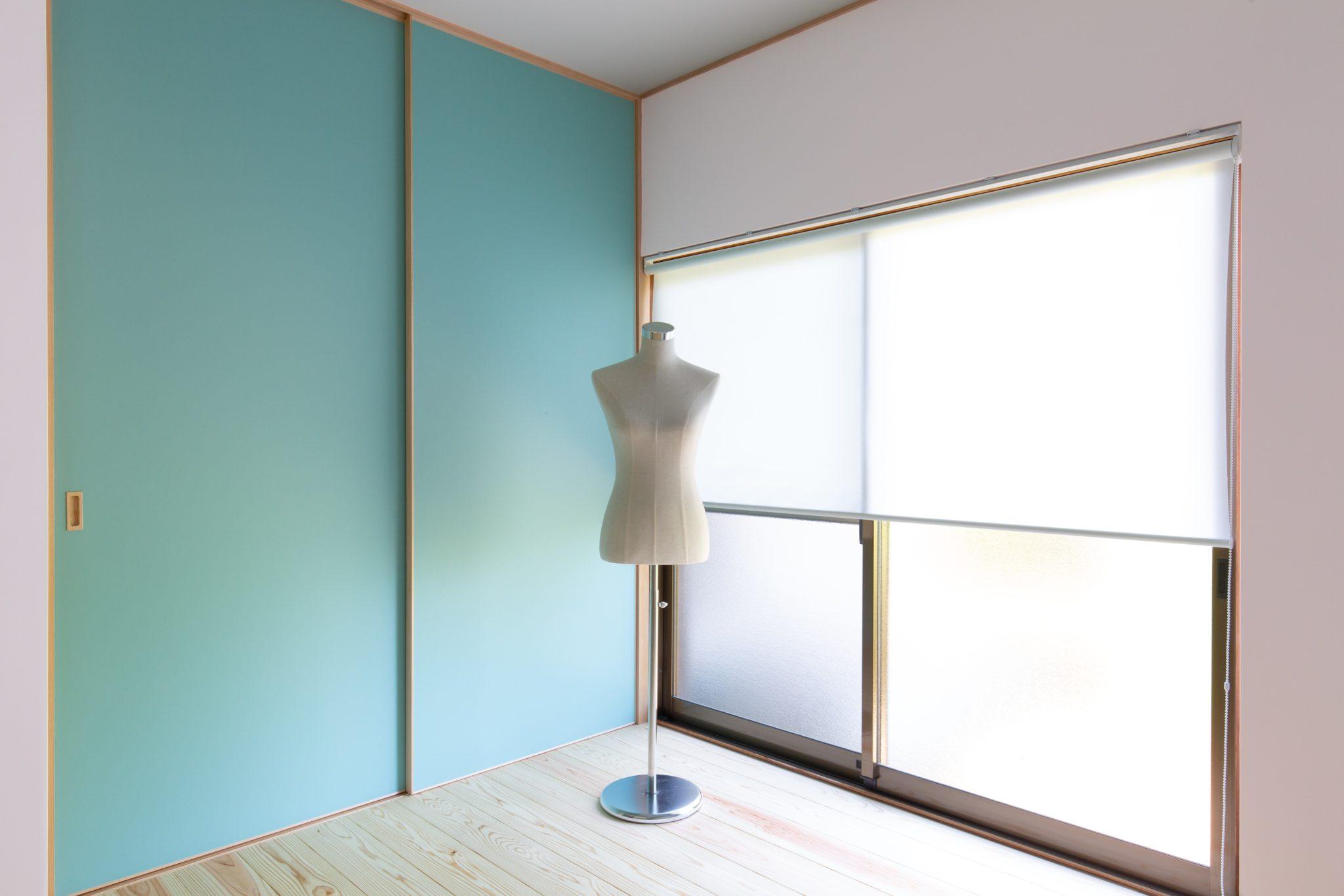 素材を置いてある部屋。